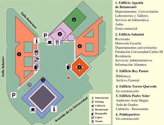 Gettinghere - Leganés map